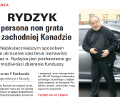 """Artykuł red. Bonikowskiej w """"Przeglądzie"""" w Polsce o o. Rydzyku i Kanadzie"""
