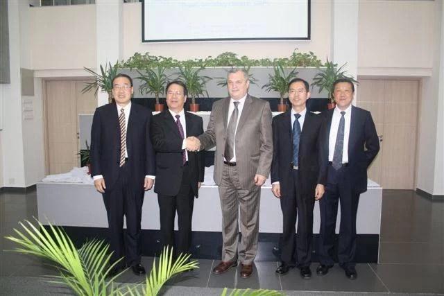 Reprezentanţi ai Shangaiului în vizită la Camera de Comerţ Prahova