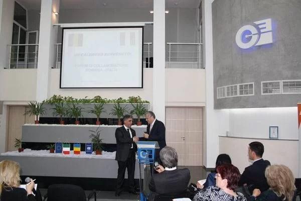 FORUMUL DE COLABORARE ROMÂNIA – ITALIA a adus la Ploieşti 50 de companii cu capital italian şi autohton