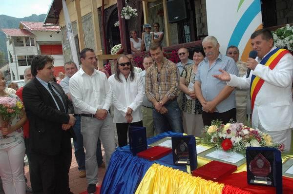 Ionut Iftimoaie, Vasile Şeicaru şi Gabriel Croitoru – cetăţeni de onoare ai oraşului Buşteni