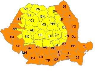 Temperaturi extreme. Prahova – sub cod portocaliu