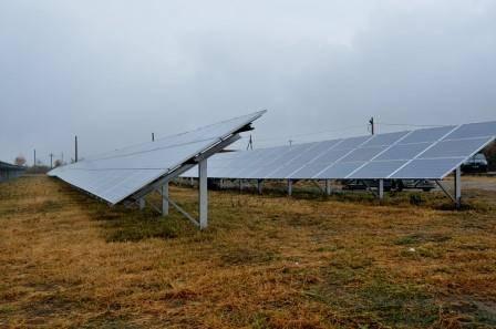 Centrală fotovoltaică dată în funcţiune în comuna Măgurele