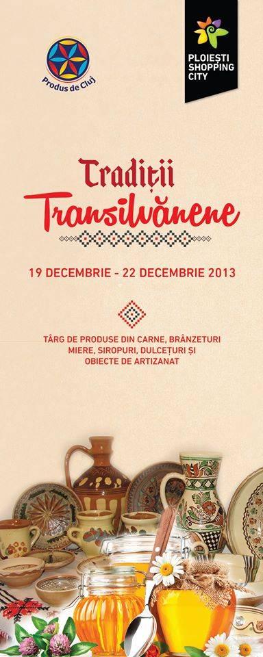 Bunătăți transilvănene și cadouri de Crăciun la Ploieşti Shopping City