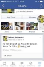 Mircea_Bornescu_anunt_plecare_Alex_Benga_Facebook