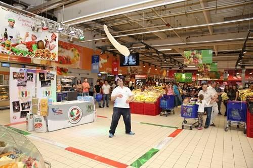 Săptămâna italiană la Carrefour