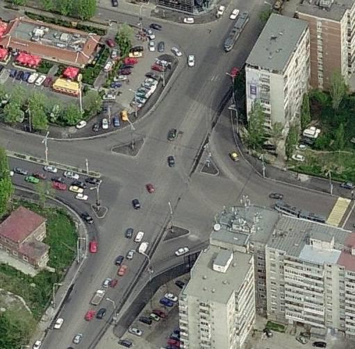 Ocoliţi intersecţia Şoselei Nordului cu Bulevardul Republicii