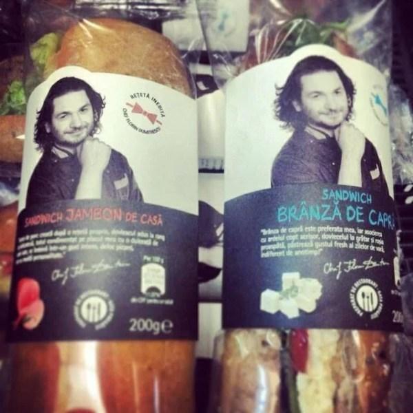 Ce spune chef Florin Dumitrescu după ce i-au fost criticate şi ironizate sandvisurile
