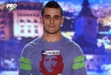 Concurentul condamnat pentru complicitate la crimă, eliminat de la Românii au talent