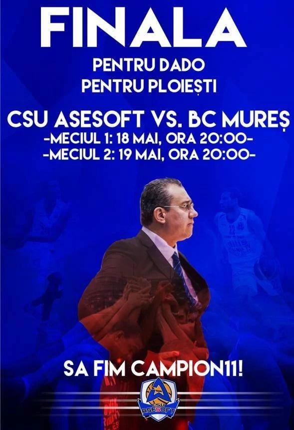 Astăzi începe ultimul turnir pentru cucerirea titlului cu numărul 11 al campionilor de la CSU Asesoft