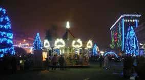 Târg de Crăciun, parc de distracţii şi un trenuleţ al zăpezii în Ploieşti, de sărbători