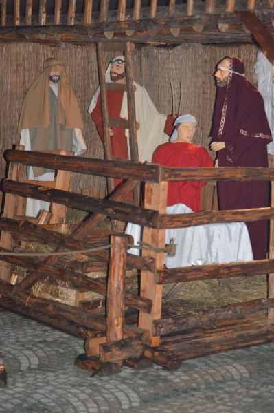 Scenă biblică vandalizată şi retuşată de 6 ani. Explicaţia SGU Ploieşti