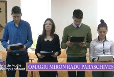 Valenii de Munte la timpul prezent 19 feb 2016 Omagiu Miron Radu Paraschivescu p 2