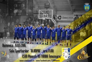"""Pe urmele Asesoftului. Duminică, la """"Olimpia"""", primul derbi de baschet masculin pentru CSM Ploiești. Adversară, o fostă echipă de Ligă Națională"""