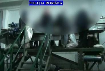 46 de persoane prinse lucrând la negru într-un depozit din Băicoi