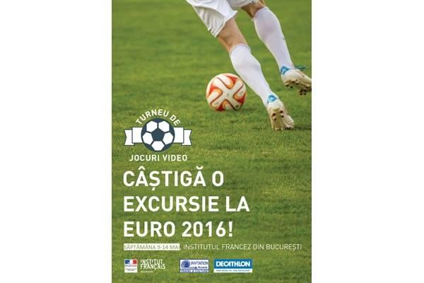 Excursie la Euro 2016, premiu la un concurs de jocuri video