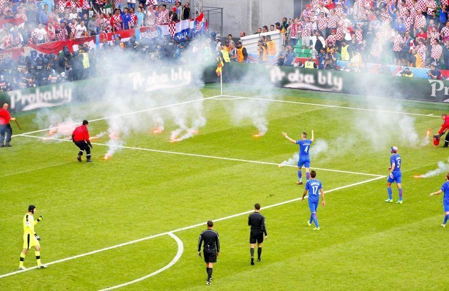 Dacă huliganii croați și-au bătut joc de naționala lor, Spania a făcut show pentru fanii frumoși ai săi. Iar Italia rămâne… Italia!