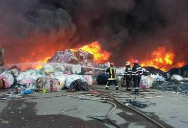 Cum a izbucnit incendiul de la Floreşti