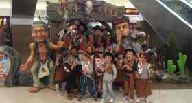 """RONTZY invită copiii în Vestul Sălbatic, la expoziția """"Wild West Kids"""" de la Ploiești Shopping City"""