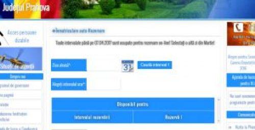 programare online inmatriculari