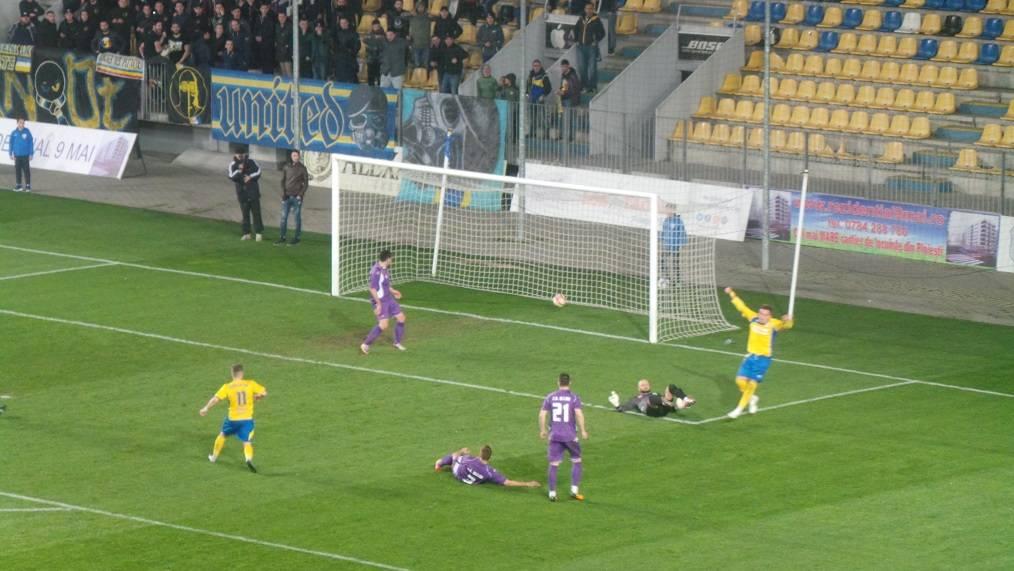 Adrian Vintila, primul gol in derbiul cu CS Blejoi, republikanews.ro