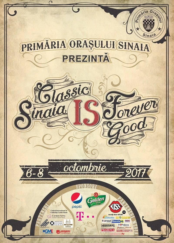 Sinaia Forever, 6-8 octombrie: Vescan, Mihail, Irina Rimes, Vunk şi Alexandra Uşurelu cântă la festival
