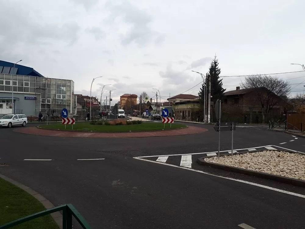 Sistem inteligent de semaforizare la Vălenii de Munte