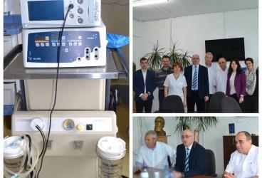 Aparatură medicală donată de Fundaţia Michelin Spitalului Judeţean Ploieşti
