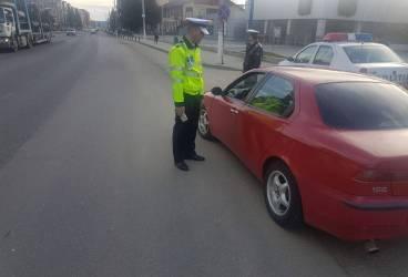 Acţiune a Poliţiei Rutiere în Vălenii de Munte şi Gura Vitioarei – FOTO