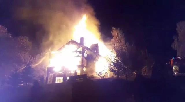 Incendiu violent, la Breaza
