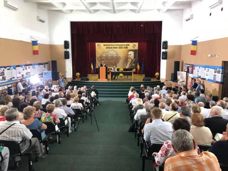 """Universitatea Populară de Vară """"Nicolae Iorga"""" 2018 şi-a deschis cursurile (galerie foto)"""