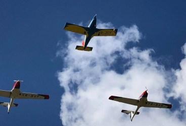 Miting aviatic la Băneşti, în omagiul lui Aurel Vlaicu (galerie foto)