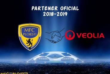 Performerii atrag sponsori cu mare drag de performanță: MFC Ploiești va beneficia de suportul financiar al brandului Veolia!