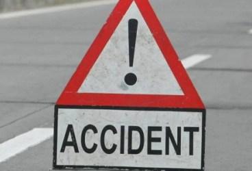 Accident cu un microbuz și o autoutilitară, cu alcool în sânge
