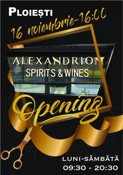 Primul magazin de retail din țară lansat de Alexandrion Group se deschide în Ploiești