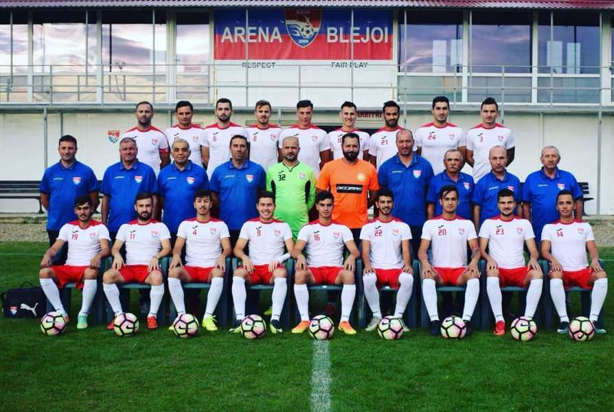 CS Blejoi – o echipă care se bate sus de trei ani, dar are și ghinion mare un an da, un an nu, un an da!