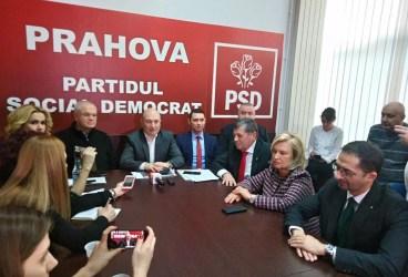 Codrin Ştefănescu a dat startul campaniei pentru Europarlamentare la PSD Prahova