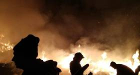 Mort într-un incendiu la Gura Vadului