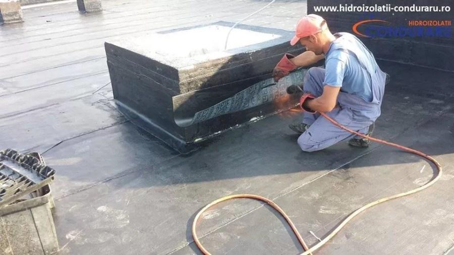 Realizarea lucrărilor de izolații și termoizolații pentru o terasă circulabilă