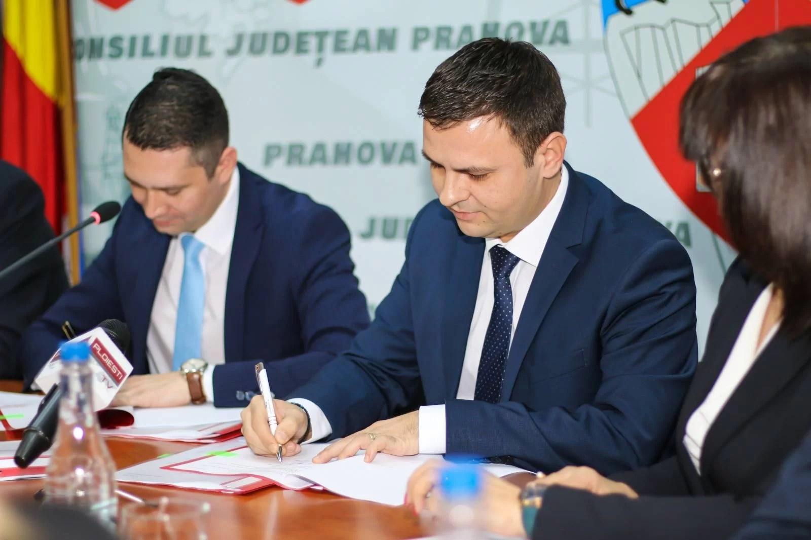 Șase mari contracte cu finanțare europeană pentru județul Prahova, semnate azi