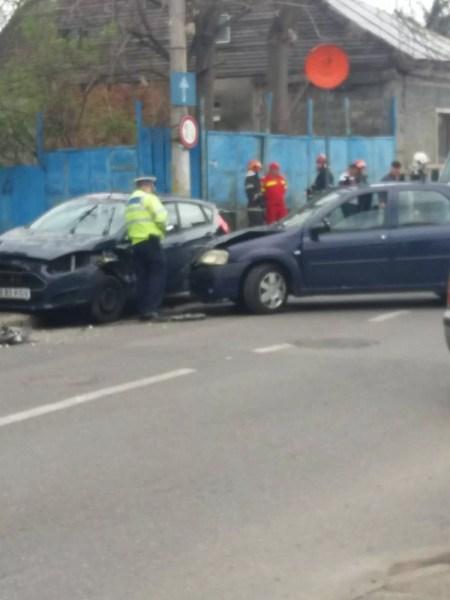 Accident cu victime în cartierul Radu de la Afumaţi