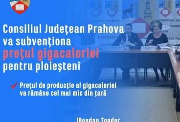 """Bogdan Toader: """"CJ Prahova va subvenționa prețul gigacaloriei pentru ploieșteni… Dobre a minţit!"""""""