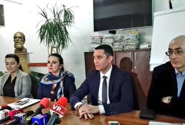 """Sorina Pintea şi Bogdan Toader, despre Spitalul Judeţean: """"Nu mai merge şi aşa"""""""