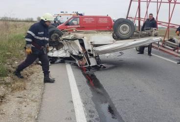 Accident devastator cu un deces la Stănceşti (video de la locul accidentului)