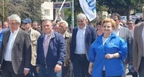 500 de membri ALDE prahoveni, participanţi la Marşul Demnităţii de la Braşov