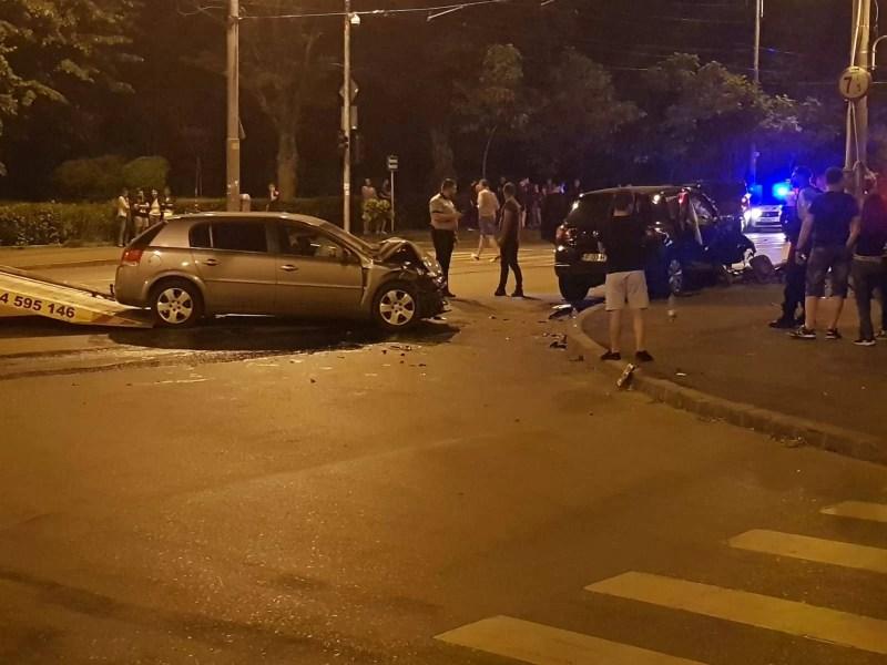 Accident cu 5 victime pe Şoseaua Nordului din Ploieşti (galerie foto)