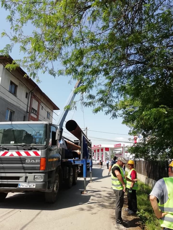 Lucrări pentru prevenirea inundaţiilor în comuna Bărcăneşti