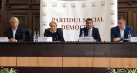 Un milion şi jumătate de susţinători PSD s-au desprins din cauza temei justiţiei, consideră Viorica Dăncilă