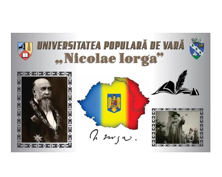 Program: Cursurile de Vară ale Universității Populare Nicolae Iorga (11-16 august 2019)