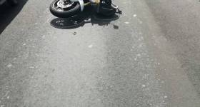 Pieton mort în accident de motocicletă