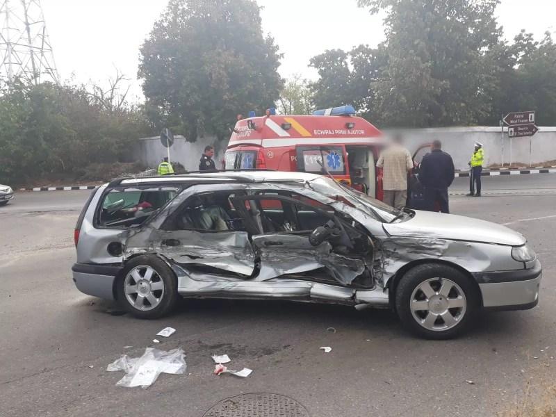 Accident rutier urât în Floreşti